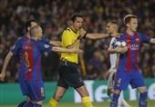 فوتبال جهان| داور جنجالساز مصاف «بارسلونا - پاریسنژرمن» در آزمون قضاوت مردود شد