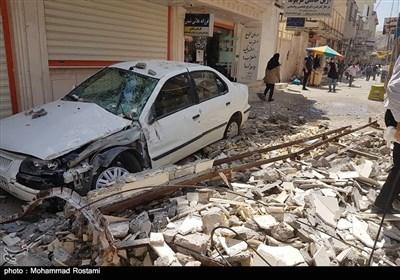 خسارات زلزله مسجد سلیمان