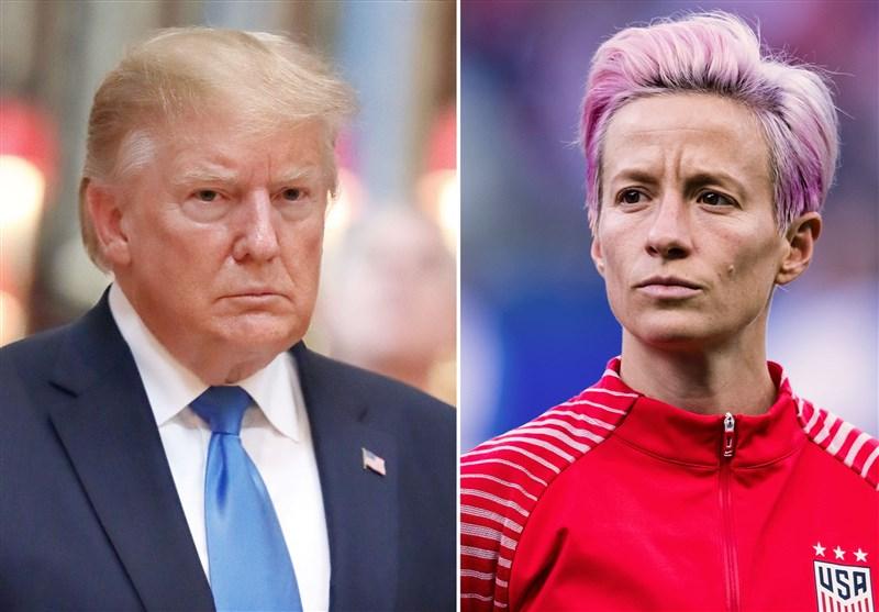المپیک 2020 توکیو| ادعای عجیب دونالد ترامپ درباره باخت تیم فوتبال بانوان آمریکا مقابل سوئد