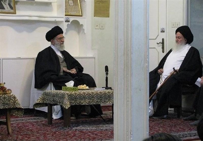 پیام تسلیت امام خامنهای به مناسبت درگذشت آیتالله حسینی شاهرودی