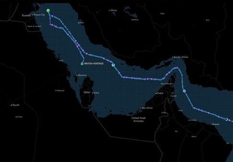 British Oil Tanker Makes U-Turn, Shelters in Saudi Arabia: Report