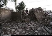 آخرین وضعیت روستای گلگیر مسجد سلیمان بعد از وقوع زلزله به روایت تصویر