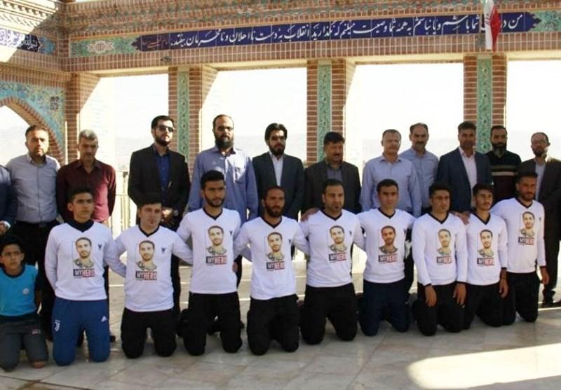 12 دونده تیم «شهدای مدافع حرم» فاصله بجنورد تا مشهد مقدس را میپیمایند