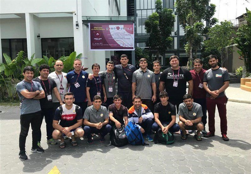 Iran Greco-Roman Team Wins Junior Asian Championships