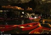 همدان| سکوت غار علیصدر با حفظ رعایت پروتکلهای بهداشتی شکسته میشود