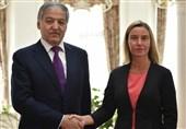 وزیر امور خارجه تاجیکستان با فدریکا موگرینی در بیشکک دیدار کرد
