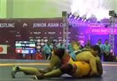 کشتی فرنگی جوانان قهرمانی آسیا| ناقوسی، فروزنده و یوسفی طلایی شدند