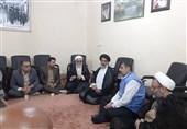 بازدید نماینده ولی فقیه در استان خوزستان از مناطق زلزلهزده مسجد سلیمان + تصویر
