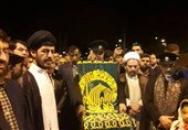 یاسوج استقبال باشکوه مردم بخش مارگون از خدام امام رضا(ع) + تصاویر