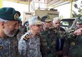 بازدید سردار باقری از تیپ زرهی تربت جام