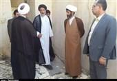 بازدید نماینده ولی فقیه در استان خوزستان از مناطق زلزلهزده مسجد سلیمان + تصاویر