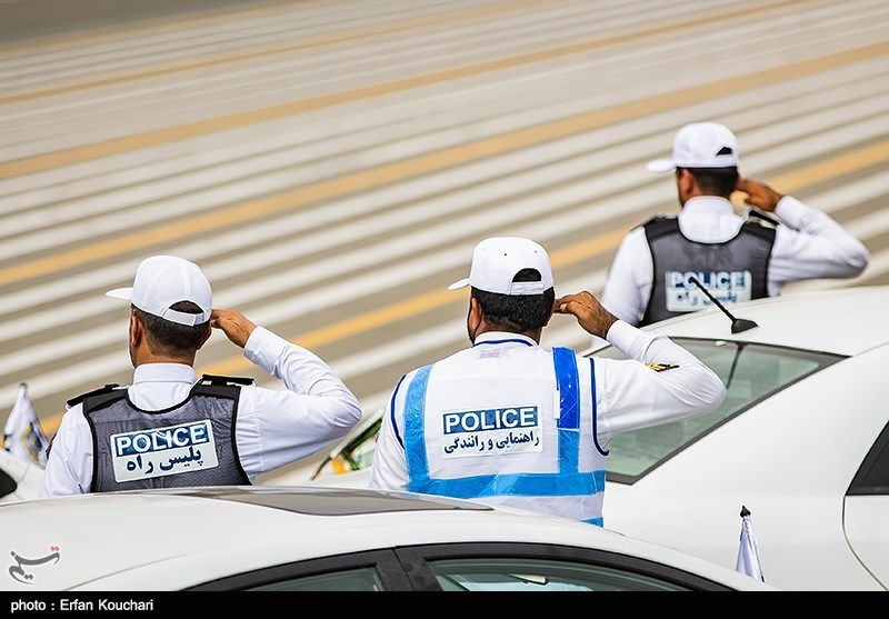 پلیس نامحسوس گلستان از جلیقههای دوربیندار استفاده میکند