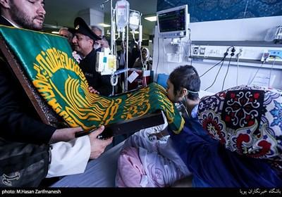 کاروان زیر سایه خورشید در محله بیمارستان رسول اکرم تهران