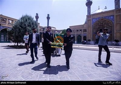 کاروان زیر سایه خورشید در مسجد دانشگاه صنعتی شریف