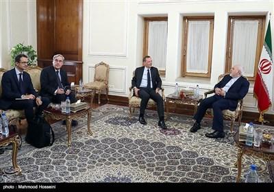 دیدار مشاور رئیس جمهور فرانسه با ظریف