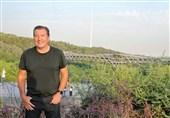 حضور مارک ویلموتس در پل طبیعت+تصاویر