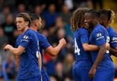 فوتبال جهان|چلسی در اولین حضور لمپارد روی نیمکت مربیگریاش متوقف شد