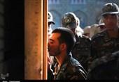 ادای احترام نیروهای مسلح به بارگاه منور امام رضا(ع) + تصاویر