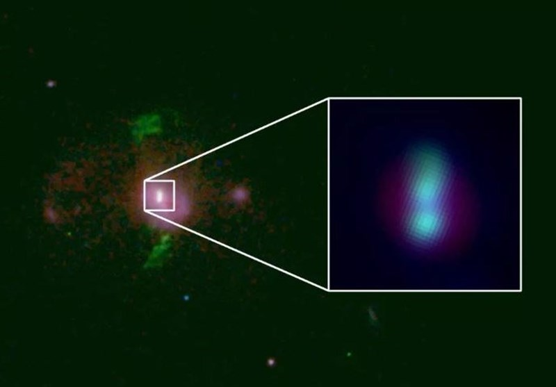 Supermassive Black Holes on Collision Course Discovered 2.5 Billion Light Years Away