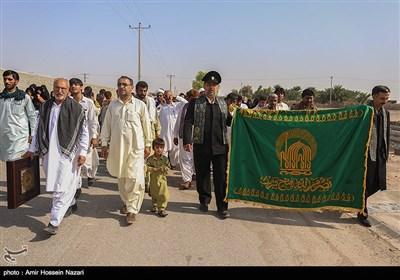 حضور کاروان زیر سایه خورشید در سیستان وبلوچستان
