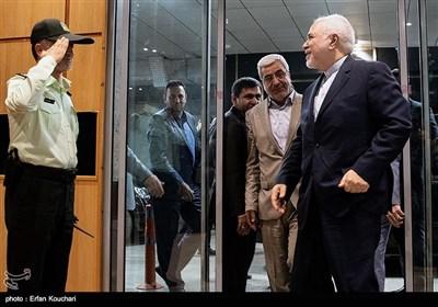 حضور محمدجواد ظریف وزیر امور خارجه در همایش فرمانداران سراسر کشور