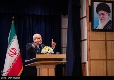 سخنرانی محمدجواد ظریف وزیر امور خارجه در همایش فرمانداران سراسر کشور