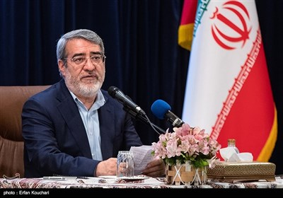 سخنرانی عبدالرضا رحمانی فضلی وزیرکشور در همایش فرمانداران سراسر کشور