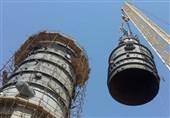حمل و نصب تجهیزات فوق سنگین در پالایشگاه نفت آبادان+عکس