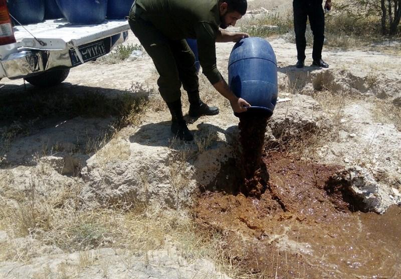 بوشهر| 800 لیتر مشروبات الکلی دست ساز در شبانکاره کشف و معدوم شد
