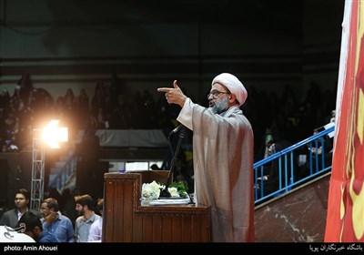 سخنرانی حجت الاسلام احد پناهیان در اجتماع عظیم دختران انقلاب-تهران