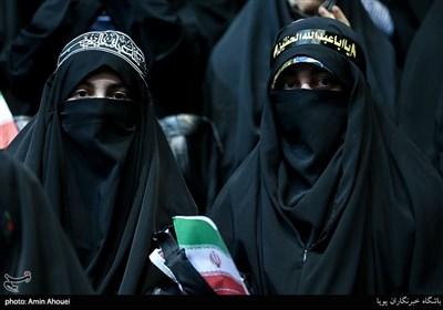 اجتماع عظیم دختران انقلاب-تهران