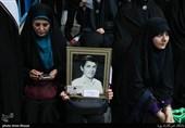 حضور خانواده شهدا در اجتماع عظیم دختران انقلاب-تهران