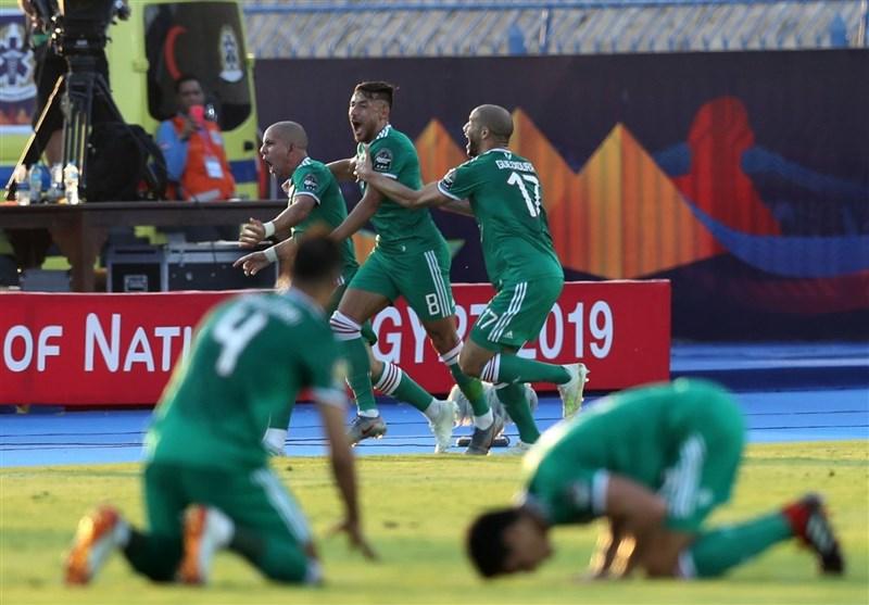 جام ملتهای آفریقا الجزایر در ضربات پنالتی راهی نیمهنهایی شد