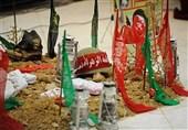 آئین بزرگداشت سالگرد 4 شهید عملیات رمضان در اهواز برگزار شد