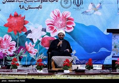 سخنرانی آیت الله حبیب الله شعبانی نماینده ولی فقیه در استان همدان