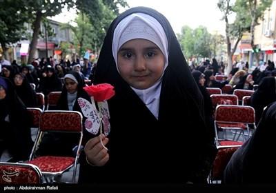 اجتماع بزرگ مردمی عفاف و حجاب-همدان