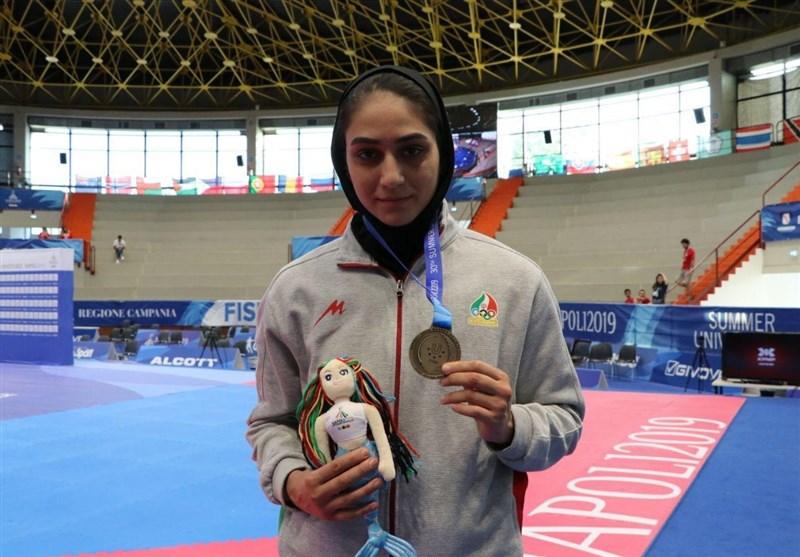 یونیورسیاد 2019 ایتالیا| بخشی: شانسم برای کسب سهمیه المپیک زیاد شد/ میرحسینی: برای کسب مدال سخت جنگیدم