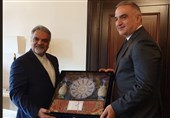 دیدار سفیر ایران با وزیر فرهنگ ترکیه