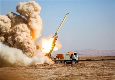 استهداف حرس الثورة لمقرات الارهابیین فی اقلیم کردستان العراق