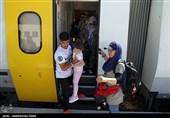 ورود قطار گردشگری به همدان