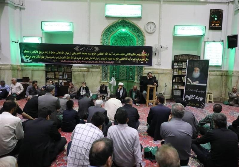 مراسم بزرگداشت حضرت آیت الله شاهرودی در مسجد ارگ تهران برگزار شد