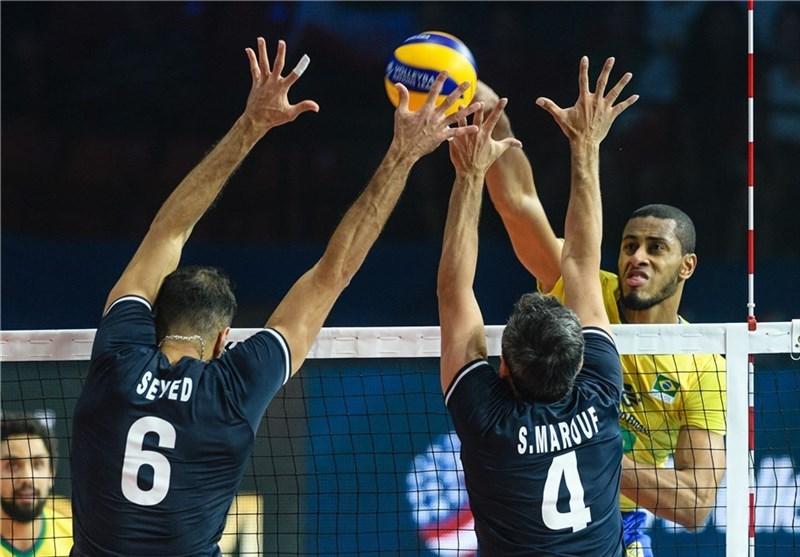 لیگ ملتهای والیبال| پایان کار ایران با شکست مقابل برزیل/ داوری و اعتراض نفسمان را گرفت!