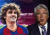 فوتبال جهان| رئیس باشگاه اتلتیکومادرید: درباره توافق زودهنگام بارسا و گریزمان مدارکی داریم