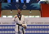 یونیورسیاد 2019 ایتالیا| احمدی: امیدوارم 3 سهمیه المپیک 2020 را بگیریم/ در فینال اشتباهاتی داشتم ولی به مبارزه برگشتم