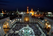 سرودههایی در مدح امام رضا(ع):«خوش به حالم که اهل ایرانم / خادم بارگاه سلطانم»