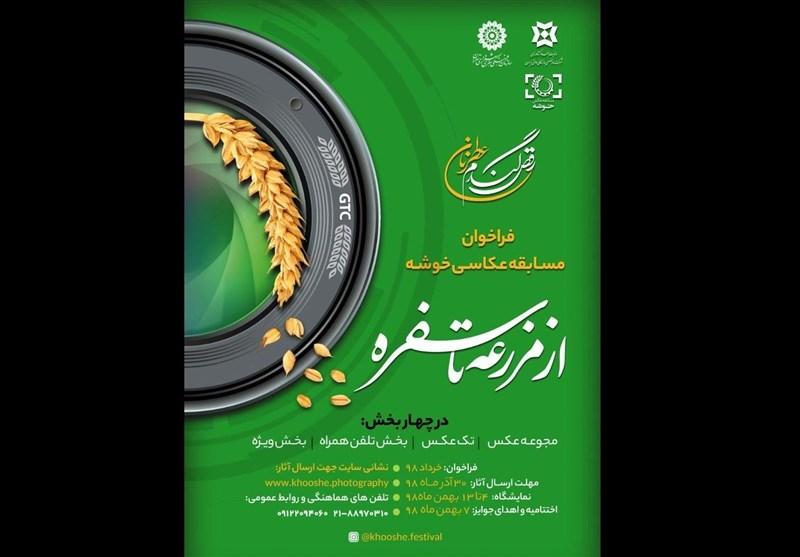 فراخوان مسابقه ملی عکس خوشه منتشر شد