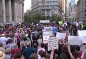 تظاهرات گسترده آمریکاییها علیه سیاستهای مهاجرتی ترامپ