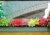 تصاویر مراسم تعویض گلهای ضریح مطهر امام رضا (ع) + صوت صلوات خاصه