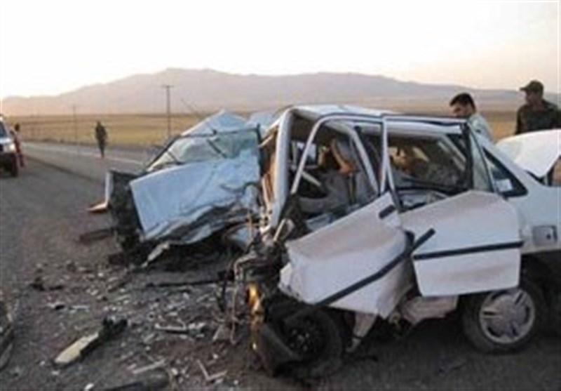 2 کشته و 3 مصدوم در تصادف زنجیرهای ارومیه