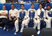یونیورسیاد 2019 ایتالیا| پرونده کاروان ایران با مدال طلای تیمی تکواندو بسته شد